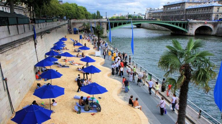 the plages paris